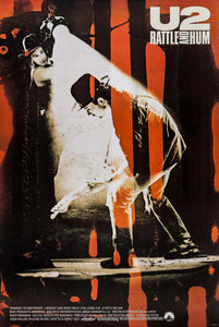 Poster Película U2 Rattle and Hum