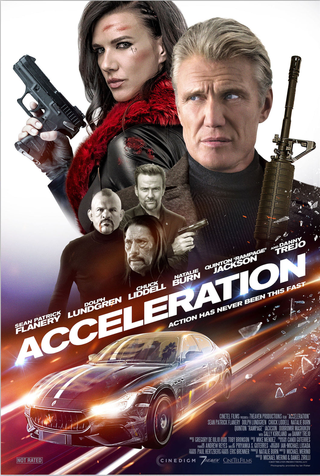 Poster Pelicula Acceleration