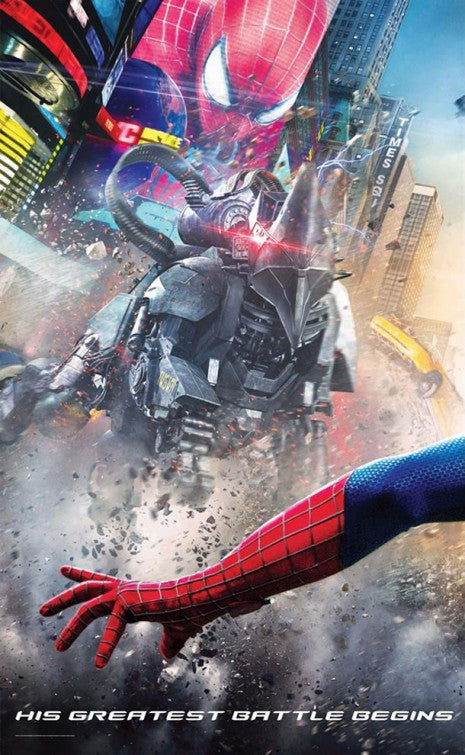 Poster Pelicula The Amazing Spider-Man 2