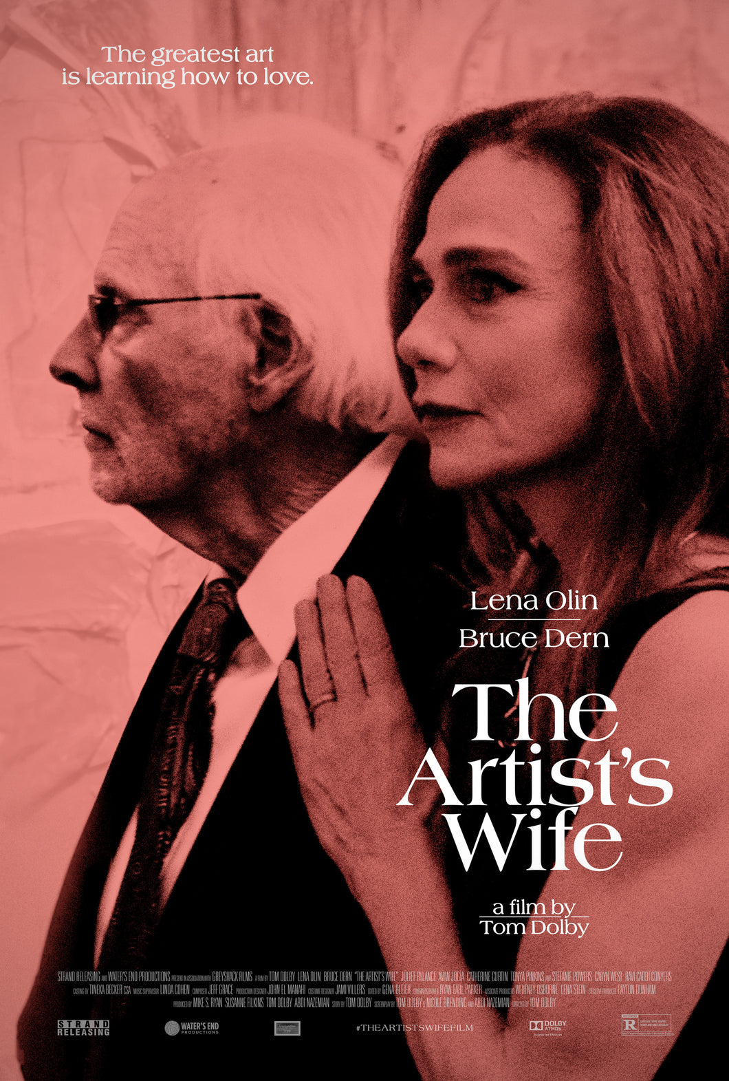 Poster Película The Artist's Wife