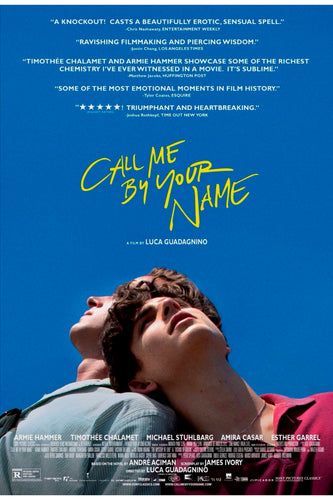 Poster Pelicula Call Me By Your Name