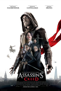 Poster Pelicula Assassin's Creed