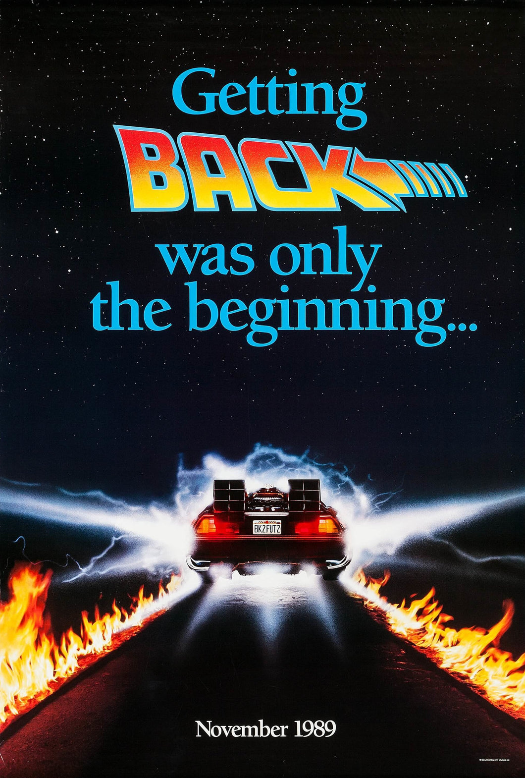 Poster Pelicula Back to the Future II 2