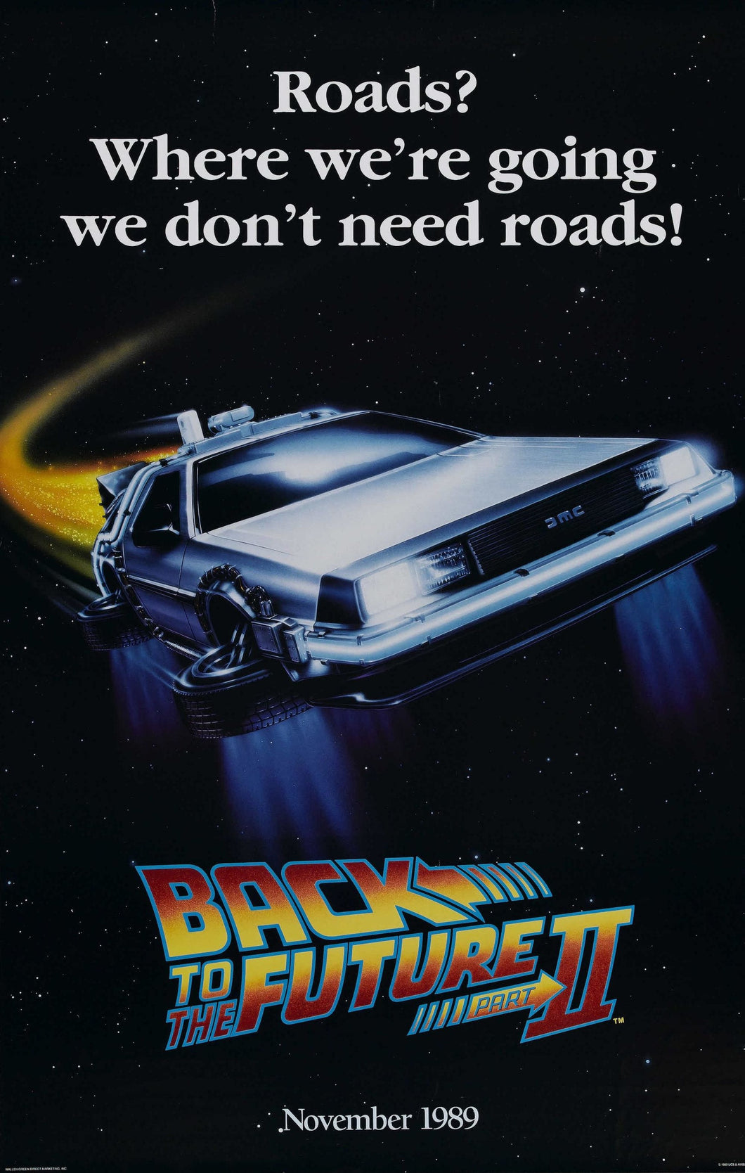 Poster Pelicula Back to the Future II 3