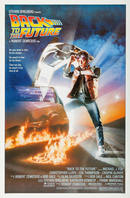 Poster Pelicula Back to the Future 2