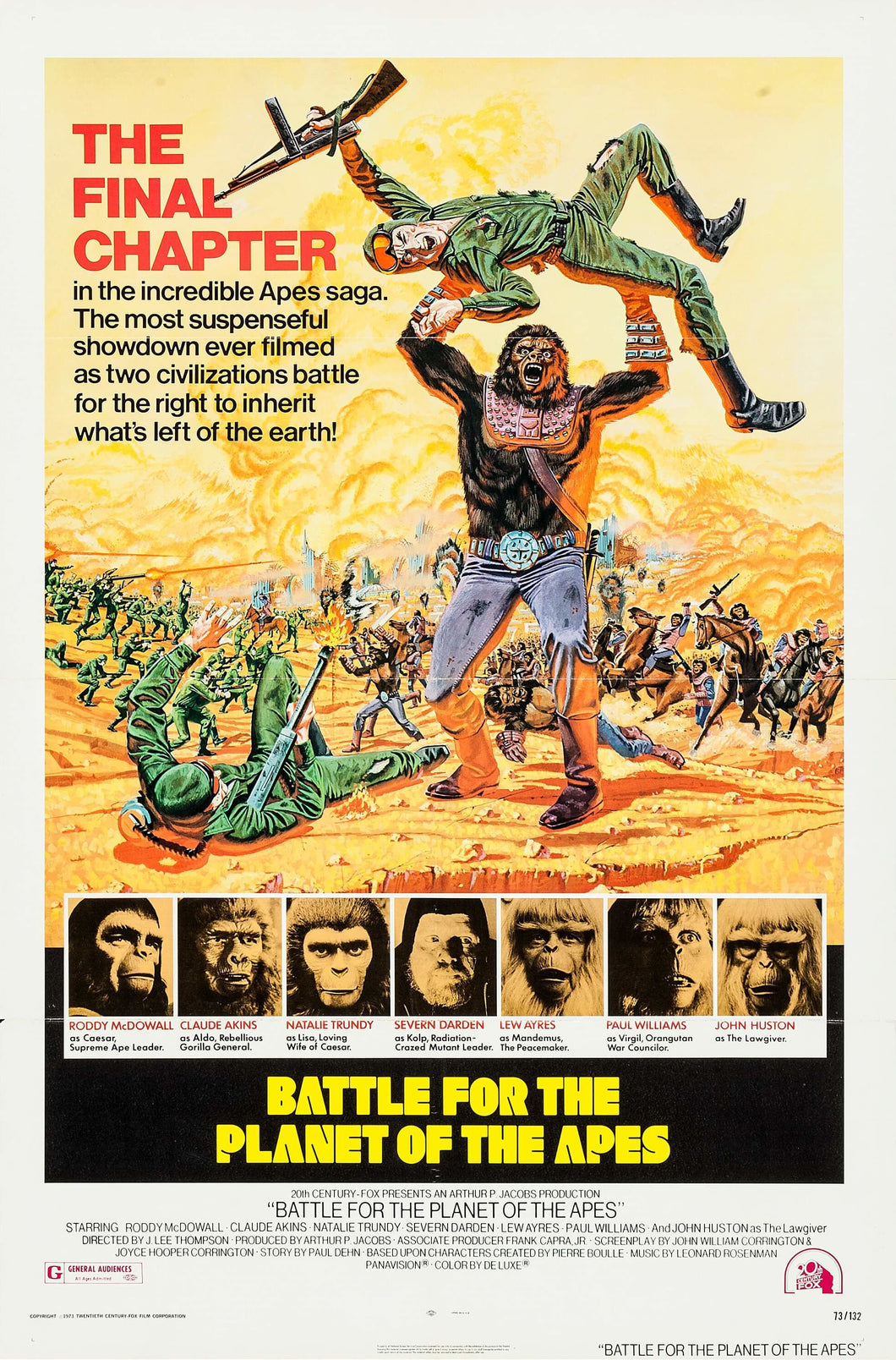 Poster Pelicula Battle for the Planet of the Apes