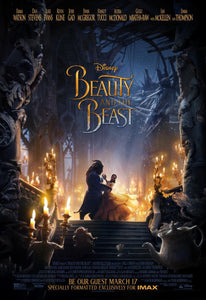 Poster Película Beauty and the Beast