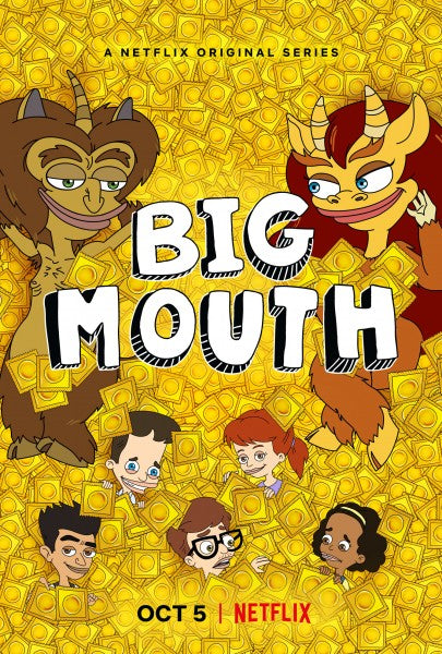 Poster Serie Big Mouth 4