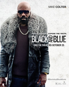 Poster Pelicula Black and Blue 3
