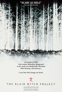 Poster Película The Blair Witch Project