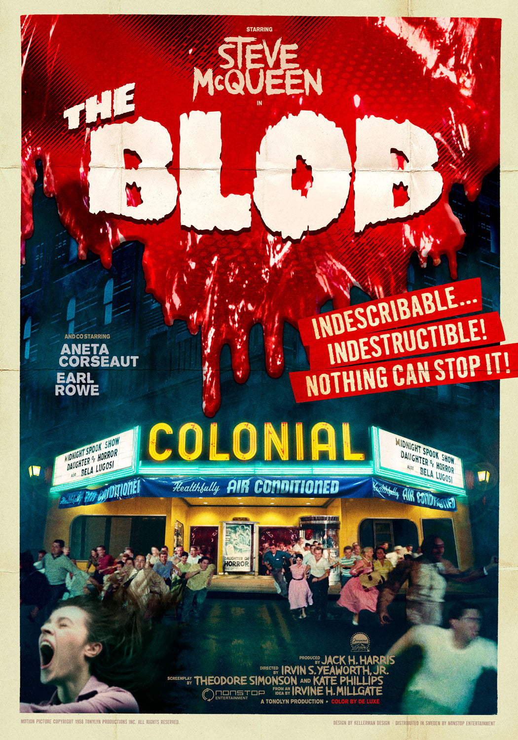 Poster Pelicula The Blolb