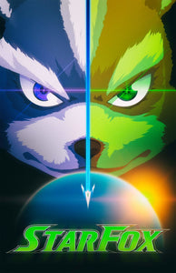 Poster Juego Star Fox 13