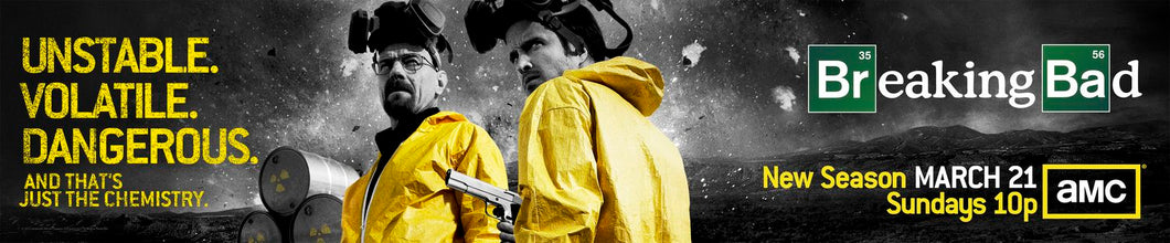 Poster Serie Breaking Bad 3