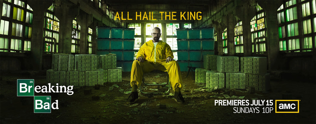 Poster Serie Breaking Bad 4