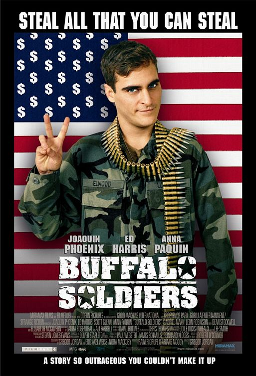 Poster Pelicula Buffalo Soldiers