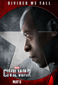 Poster Pelicula Captain America: Civil War 10