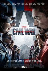 Poster Pelicula Captain America: Civil War 14