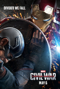 Poster Pelicula Captain America: Civil War 2