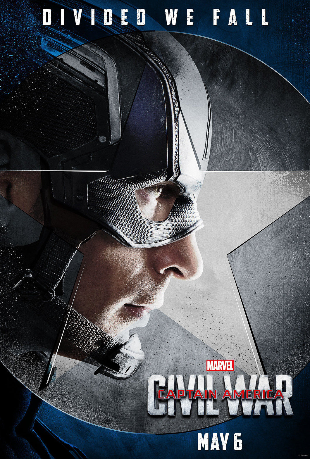 Poster Pelicula Captain America: Civil War 7