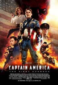Poster Película Captain America: The First Avenger