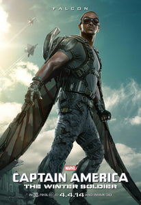 Poster Película Captain America: The Winter Soldier