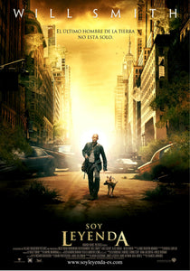 Poster Película I Am Legend