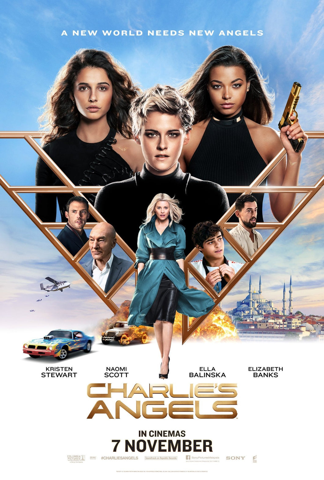 Poster Pelicula Charlie's Angels 4