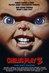 Poster Película Child's Play 3
