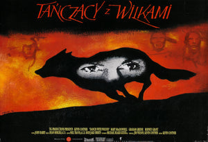 Poster Película Dances With Wolves
