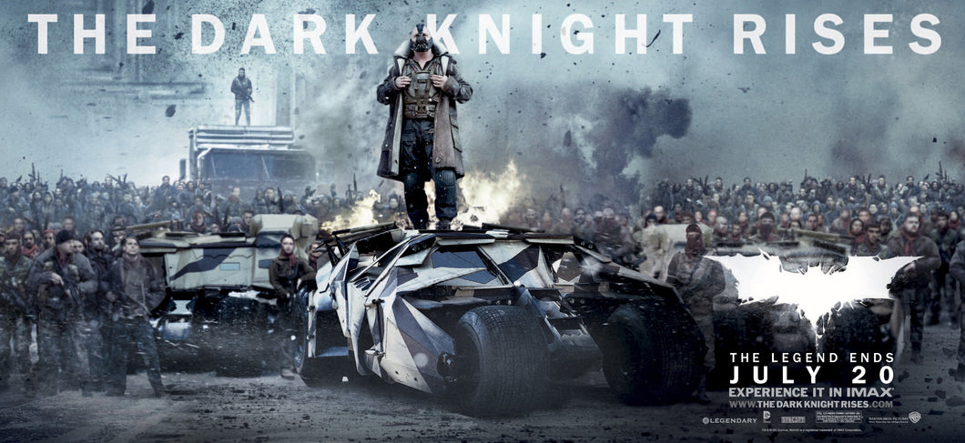 Poster Pelicula The Dark Knight Rises 11