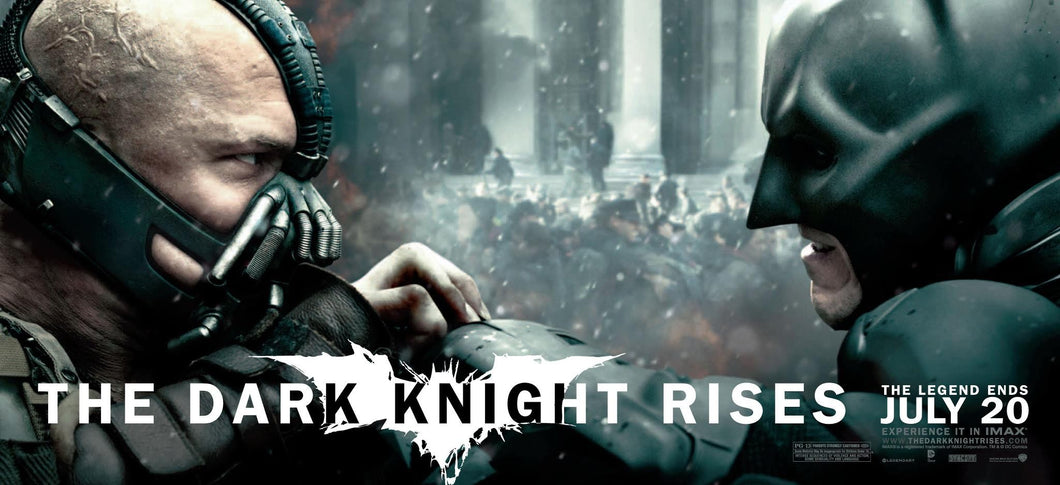 Poster Pelicula The Dark Knight Rises 13