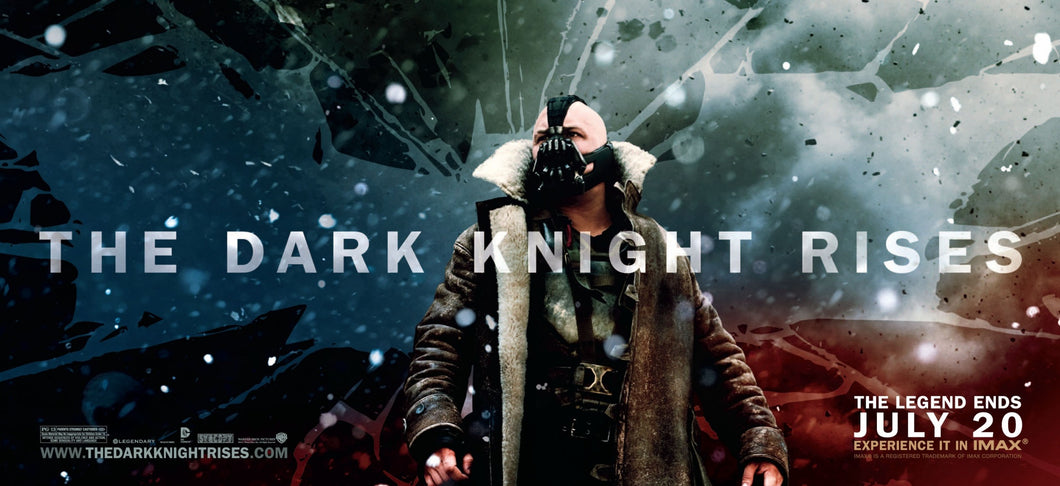 Poster Pelicula The Dark Knight Rises 18