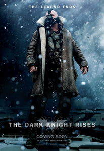 Poster Pelicula The Dark Knight Rises 3