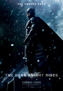 Poster Pelicula The Dark Knight Rises