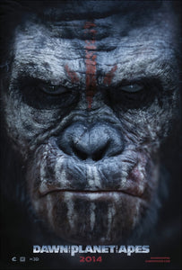 Poster Pelicula Dawn of the Planet of the Apes
