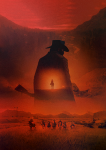 Poster Videojuego Red Dead Redemption