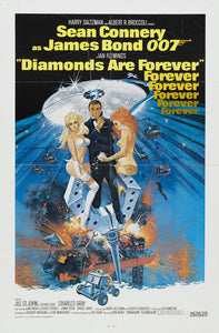 Poster Pelicula Diamonds are Forever