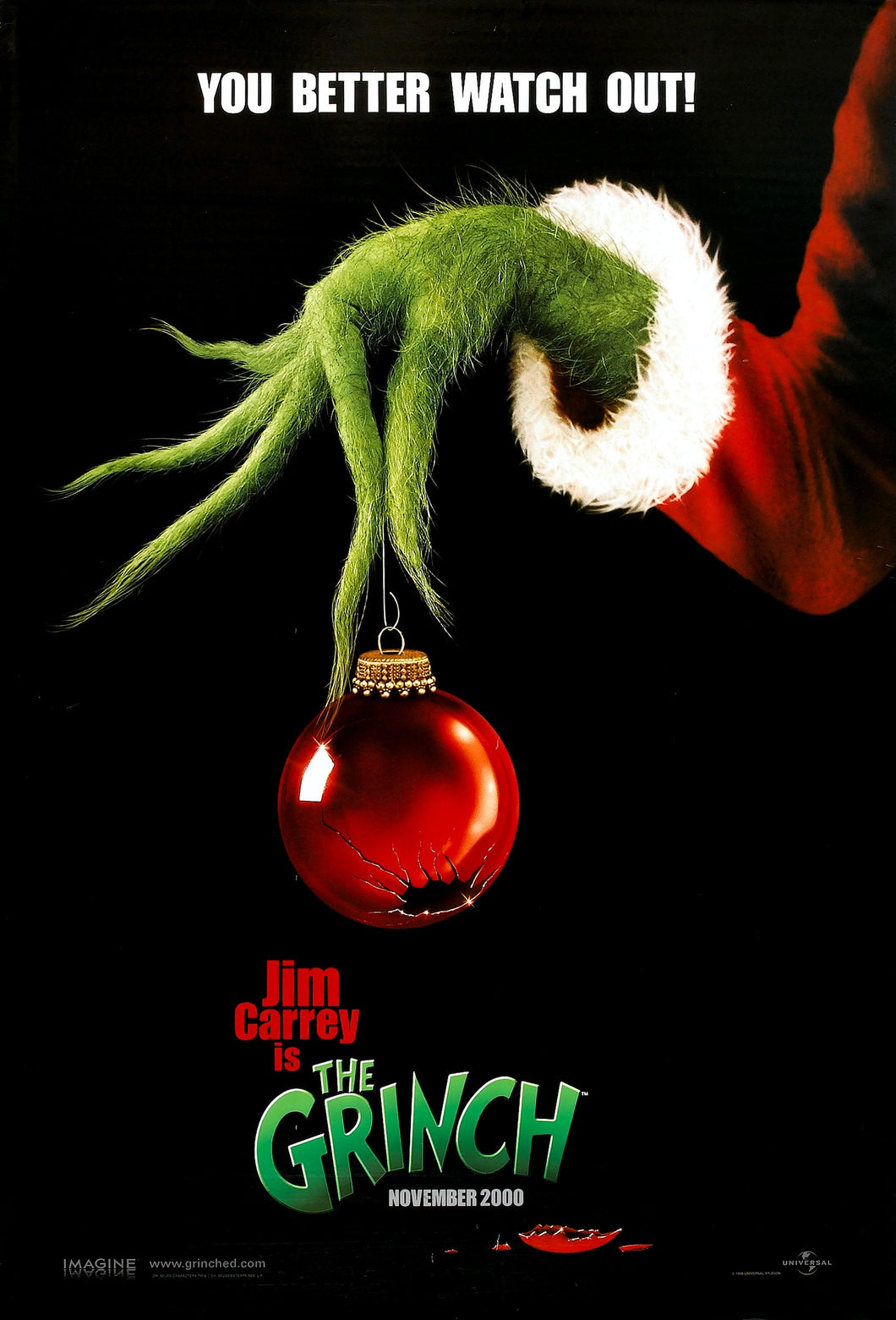Poster Pelicula Dr Seuss' How the Grinch Stole Christmas