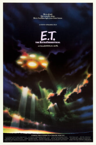 Poster Pelicula E.T. the Extra-Terrestrial
