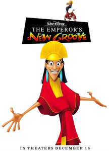 Poster Película The Emperor's New Groove