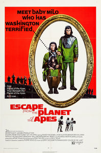 Poster Pelicula Escape from the Planet of the Apes
