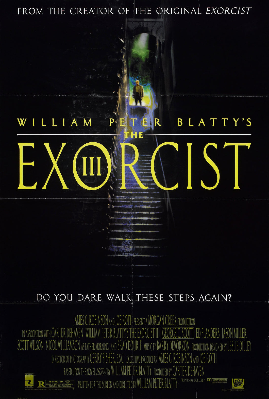 Poster Pelicula The Exorcist III