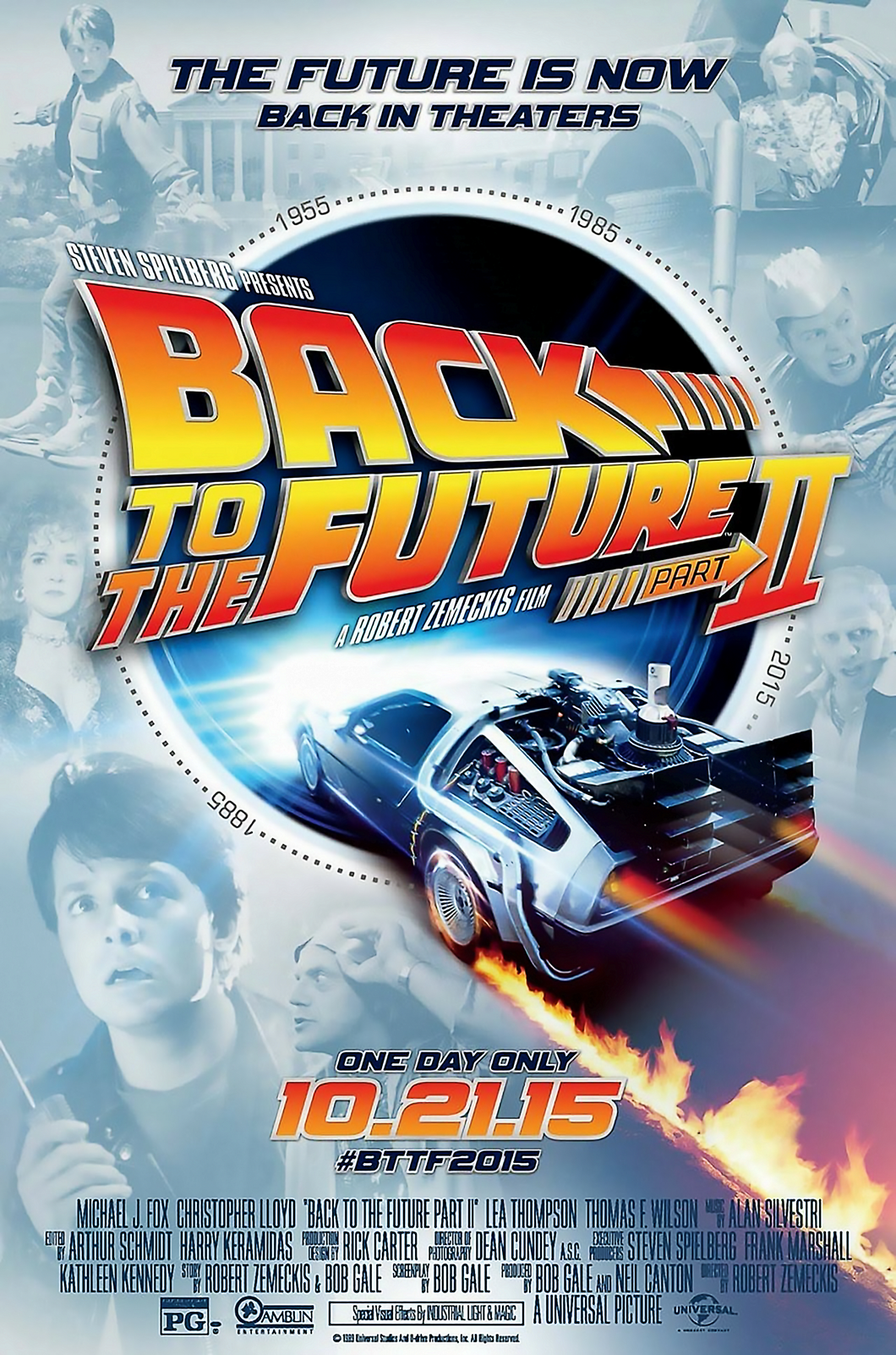 Poster Pelicula Back to the Future II 4