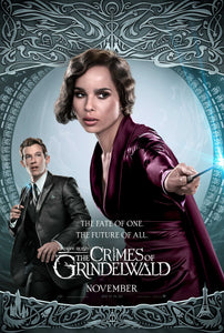 Poster Pelicula Fantastic Beasts: The Crimes of Grindelwald