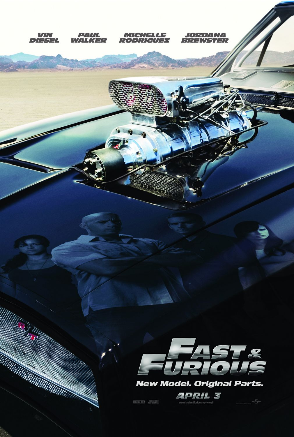 Poster Pelicula Fast and Furious