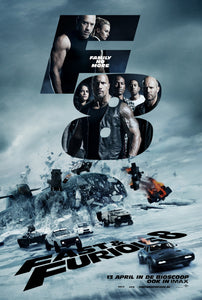 Poster Pelicula The Fate of the Furious