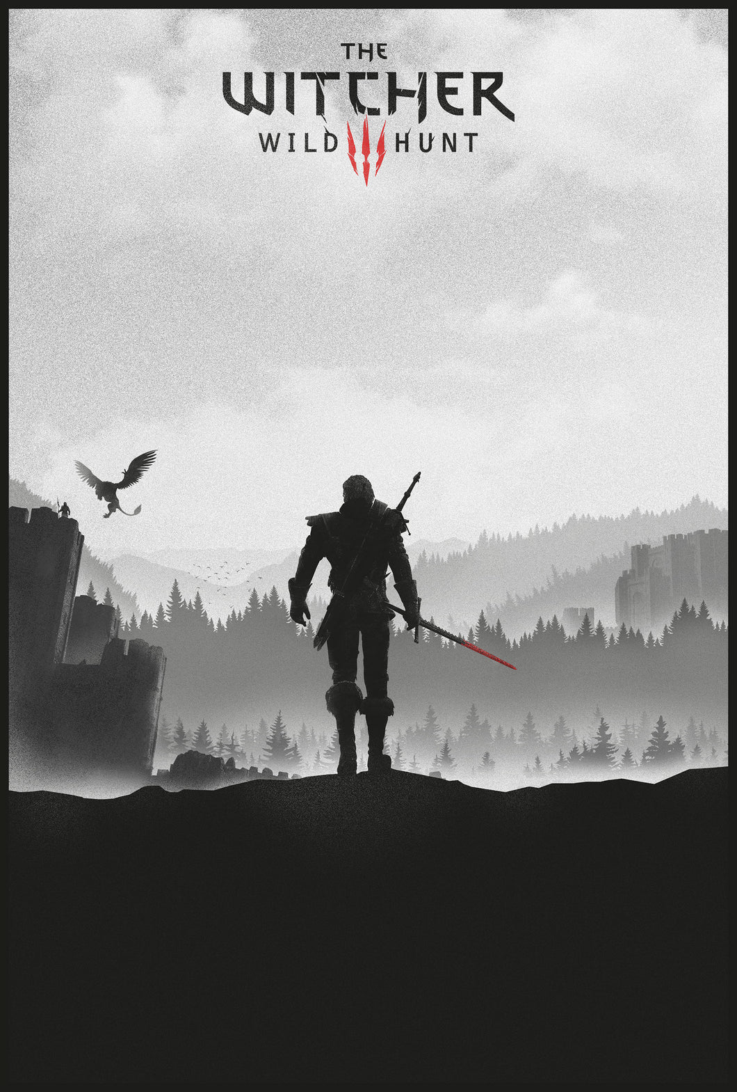 Poster Juego The Witcher 3 9