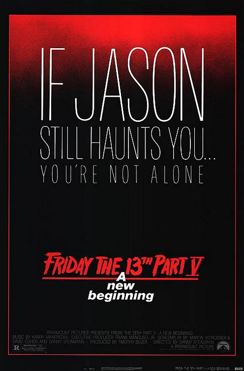 Poster Pelicula Friday the 13th A New Beginning