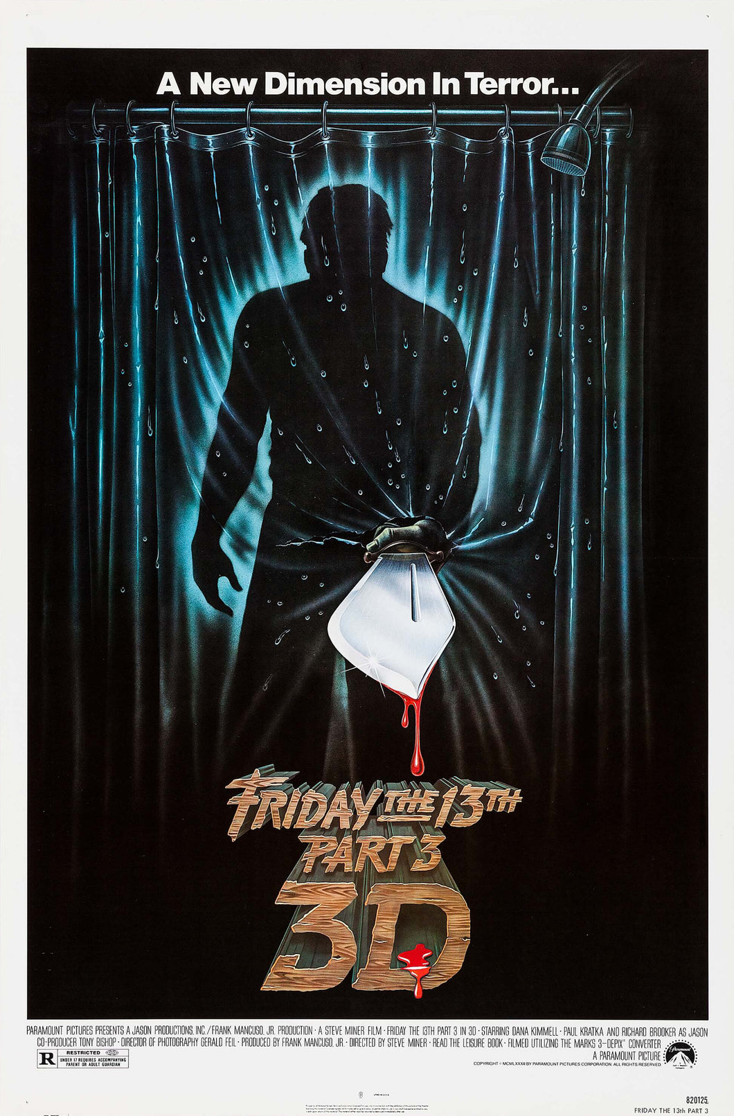Poster Pelicula Friday the 13th Part 3