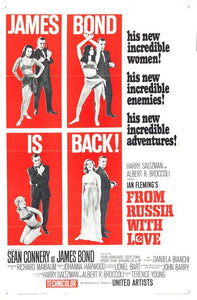 Poster Pelicula From Russia With Love